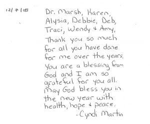 dr steve marsh testimonial